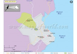 Melekeok City Map