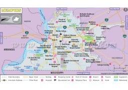 Memphis City Map