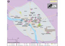 Niamey City Map