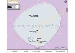 Palikir City Map