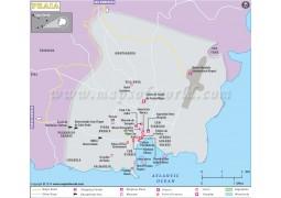 Praia City Map