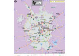 San Antonio City Map