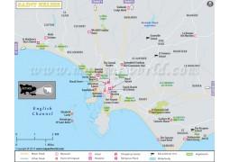 St Helier Map
