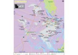Savannah City Map