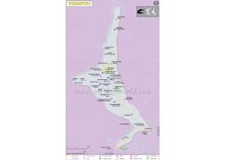 Thimphu Map