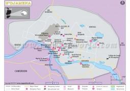 N'Djamena Map