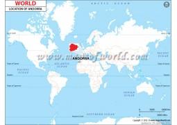 Andorra Location Map