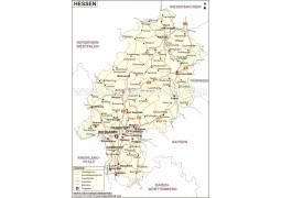 Hessen Karte