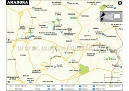 Amadora City Map