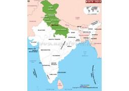 North India Map