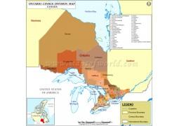 Ontario County Map