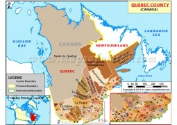 Quebec Province Map