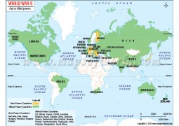 World War 2 Map