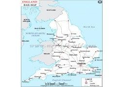 England Rail Map