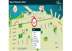 Fisherman's Wharf Map