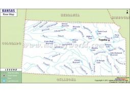 Kansas River Map