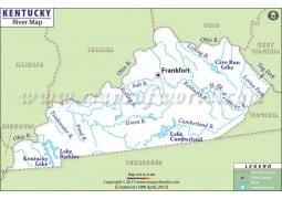 Kentucky River Map