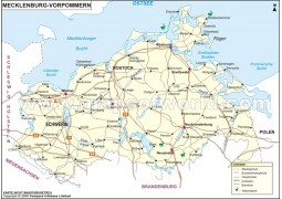 Mecklenburg-vorpommern Karte