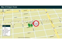 Octagon House Map