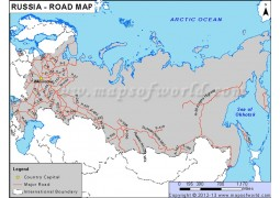 Russia Road Map