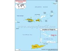 Virgin Islands Map