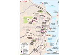 Algiers Map
