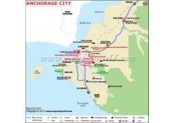 Anchorage City Map