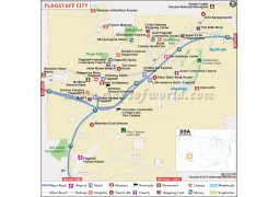 Flagstaff City Map