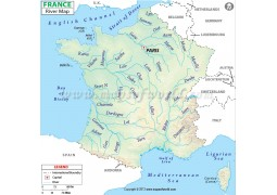 France River Map