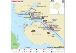 Juneau City Map