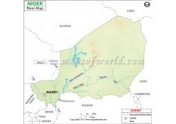 Niger River Map