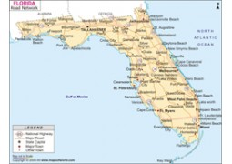 Florida Road Map