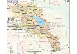 Armenia Map