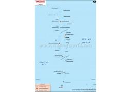Map of Maldive Airports