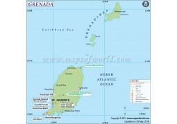 Grenada Map