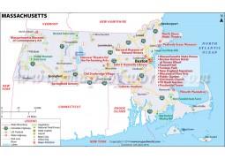 Map ofMassachusetts