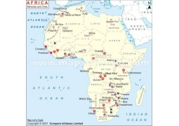Africa Minerals And Ores Map