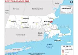 Boston Location Map