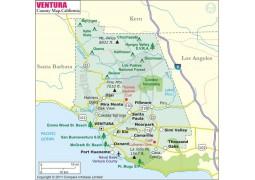 Ventura County Map
