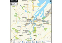 Belfast City Map