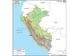 Peru River Map
