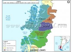 Aysen Map