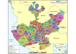 Jalisco Map