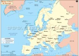 Major Cities in Europe