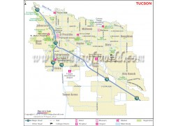 Tucson City Map