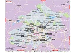 Beijing City Map