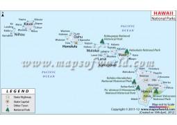 Hawaii National Parks Map