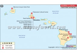 Hawaii Travel Map