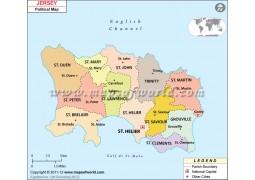 Jersey Political Map
