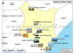 Kenya Travel Map